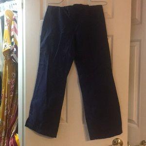 Women's butter soft navy blue scrub pants